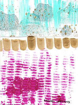Mixed Media - No. 43 by Rachel Loewens