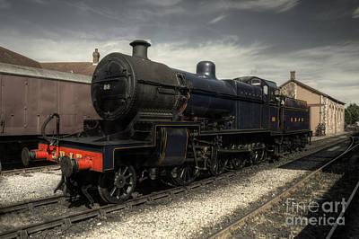 Prussian Blue Photograph - No 88 At Minehead by Rob Hawkins