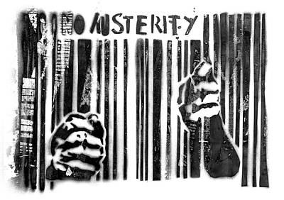 Austerity Painting - No Austerity by Germano Poli