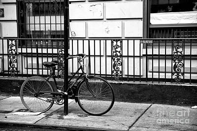 Photograph - No Bicycles by John Rizzuto