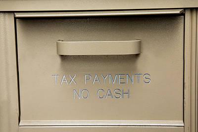 Photograph - No Cash by Steve Gravano