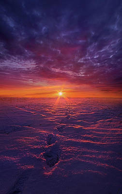 Photograph - No Clear Border by Phil Koch