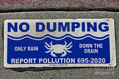 No Dumping  A World Of Words Series Original