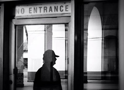 Photograph - No Entrance by Nadalyn Larsen