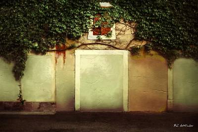 Painting - No Entry by RC DeWinter
