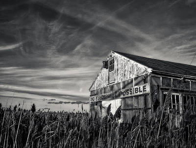 Photograph - No Evacuation by Rick Mosher