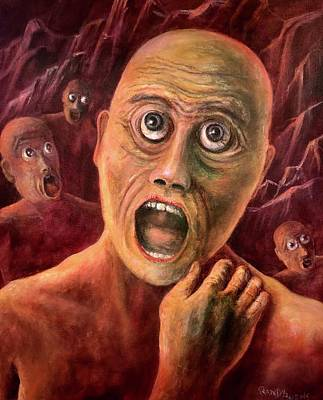 Painting - No Eyelids In Hell by Randy Burns