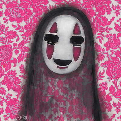 Painting - No Face  by Abril Andrade Griffith
