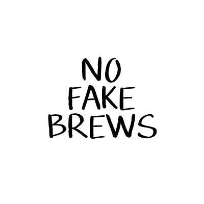 Bar Digital Art - No Fake Brews- Art By Linda Woods by Linda Woods