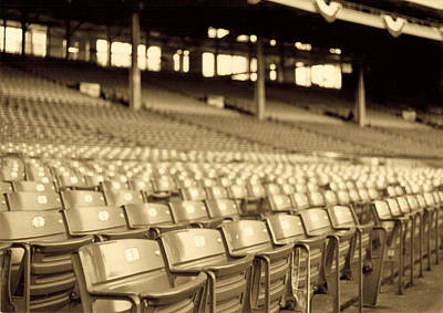Baseball Stadiums Photograph - No Games Left To See by Kenneth Krolikowski