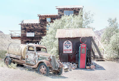 Photograph - No Gas Today by Marty Garland