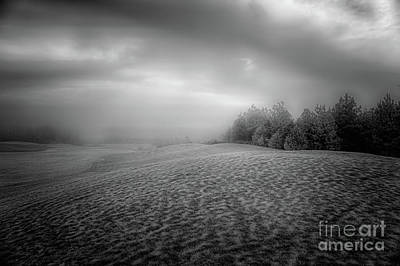 Photograph - No Golf Today Bw by Dan Carmichael