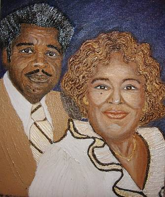 Grandparent Mixed Media - No Greater Love  by Keenya  Woods