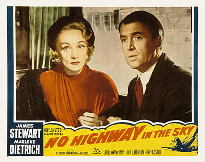 1951 Movies Photograph - No Highway In The Sky, Marlene by Everett