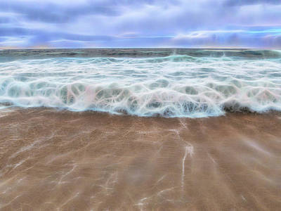 Photograph - Fractal Surf by Patti Deters