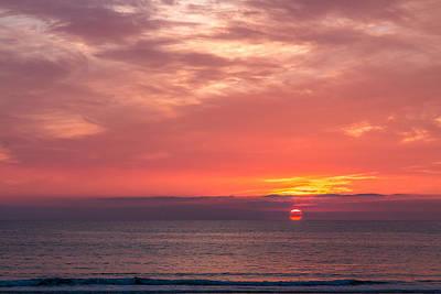 Zip Code Photograph - Newport Beach Sunset by Patti Deters