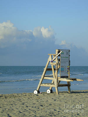 Photograph - No Lifeguard On Duty by Jennifer White