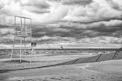 Photograph - No Lifeguard On Duty by John Crothers