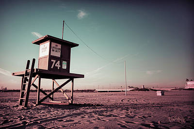 Photograph - No Lifeguard On Duty by Joseph Westrupp