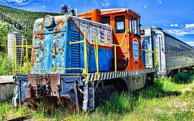Photograph - No Longer Rides The Rails by Steven Parker