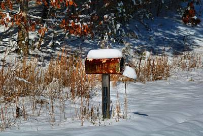 Photograph - No Mail Today Either by Kathryn Meyer