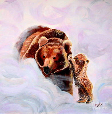 Painting - No Mama by Phyllis Kaltenbach