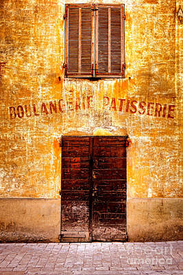 Storefront Photograph - No More Bread by Olivier Le Queinec