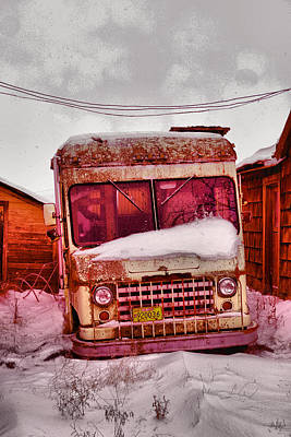 Old Trucks Photograph - No More Deliveries by Jeff Swan