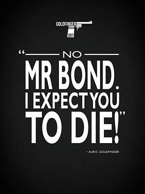 Photograph - No Mr Bond by Mark Rogan