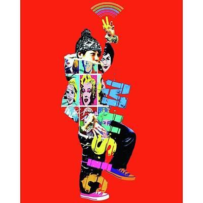 Pop Art Wall Art - Photograph - No Music, No Life. #アート by Takashi Nishimura