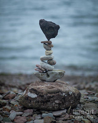 Sculpture - Zen Stack #6 by Pontus Jansson