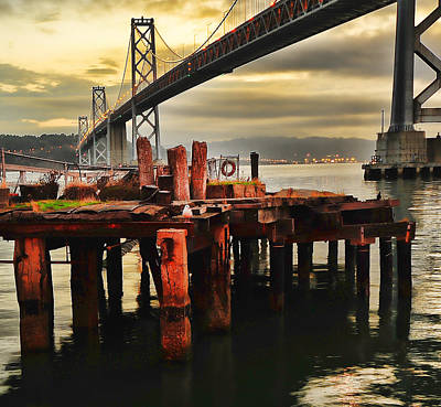 Art Print featuring the photograph No Name Dock by Steve Siri