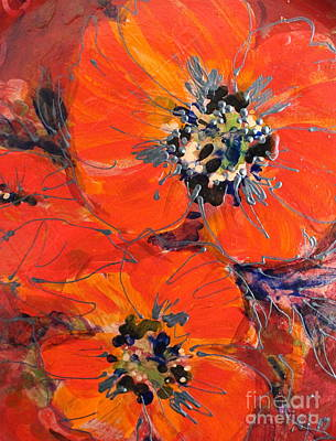 Painting - Magic Poppy by Melanie Stanton