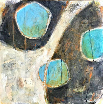 Painting - The Eyes Have It by Shelley Graham Turner