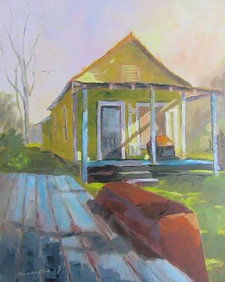 Shotgun Houses Wall Art - Painting - No Name Shotgun by Susan Richardson