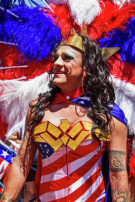 Photograph - No Need To Wonder Woman by Bob Slitzan