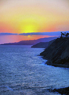 Palos Verdes Cove Photograph - No One Told You When To Run by Joe Schofield