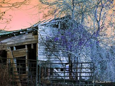 Art Print featuring the photograph No Ordinary Barn by Betty Northcutt