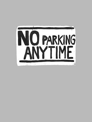 Cities Drawing - No Parking by H James Hoff