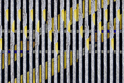 Op Art Photograph - No Parking Number 1 by Carol Leigh