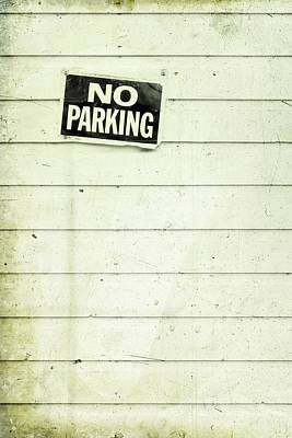 No Parking Art Print by Priska Wettstein
