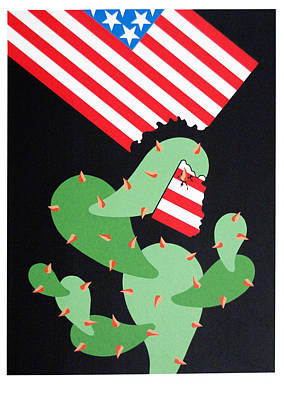 No Pasaran Art Print by Julio Eloy Mesa