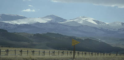 Photograph - No Passing Zone by Nadalyn Larsen
