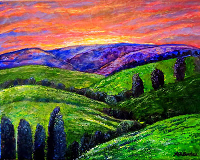 Painting - No Place Like The Hills Of Tennessee by Kimberlee Baxter