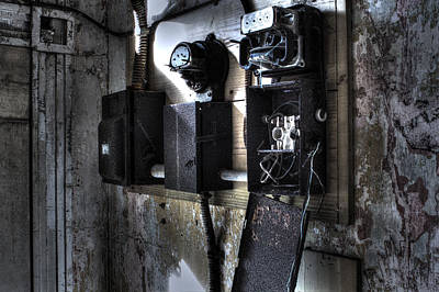Urban Exploration Photograph - No Power by Andrew Pacheco