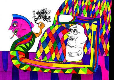No Respect Art Print by Rafael Trabasso
