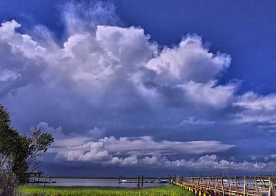 Summer Squall Photograph - No Sailing Today by Laura Ragland
