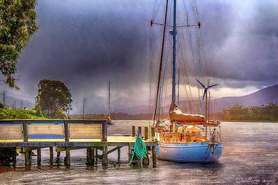 Photograph - No Sailing Today by Wallaroo Images