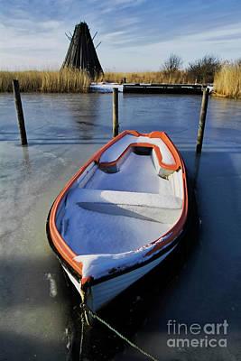 Habor Photograph - No Sailing Today by Wedigo Ferchland