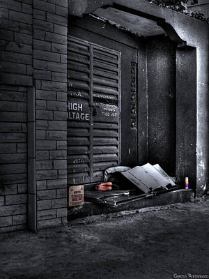 No Shelter Original by Sarita Rampersad